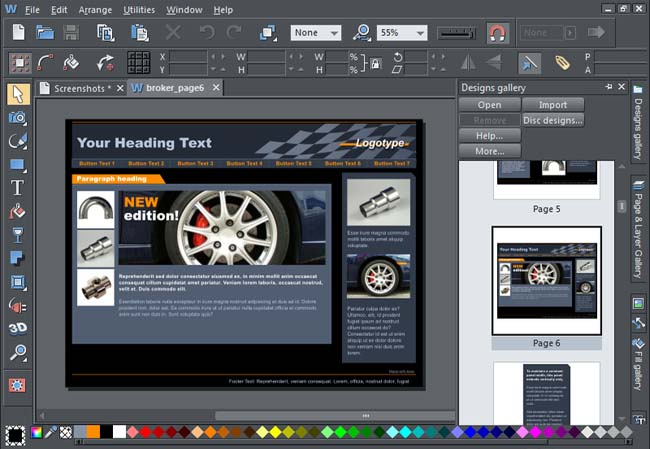 designing software free download full version for pc